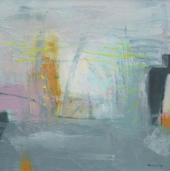 Misty Light 24x24