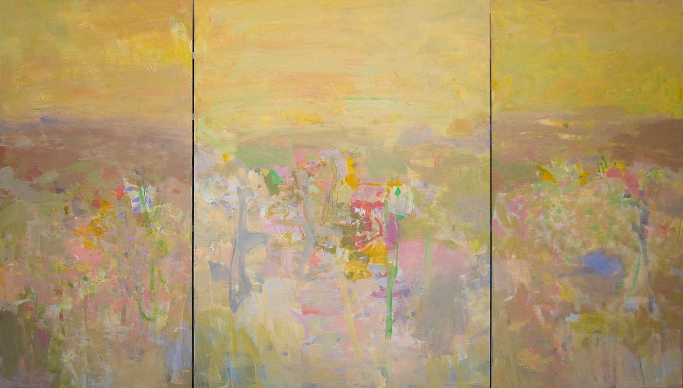 Pastorale Triptych 48x84 2014