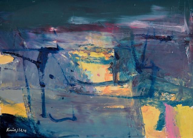 Greenock Night 10x14