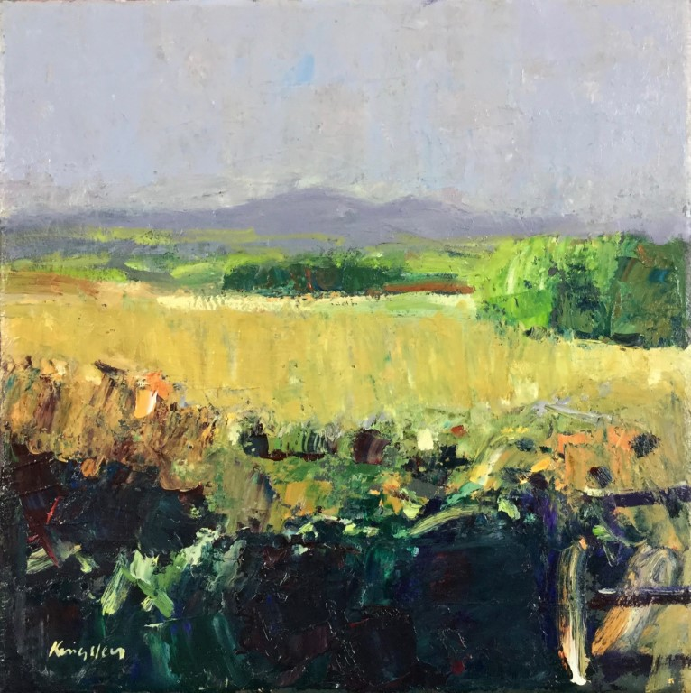 Autumn Landscape, Galloway 12x12