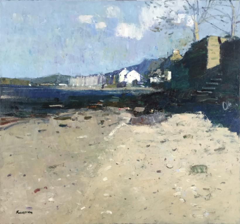 Beach at Fairlie, Ayrshire.        30x30