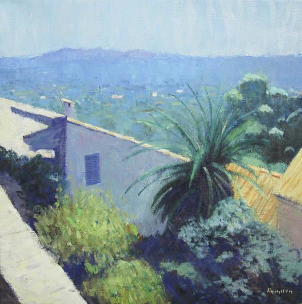 Landscape at Tourettes 24x24