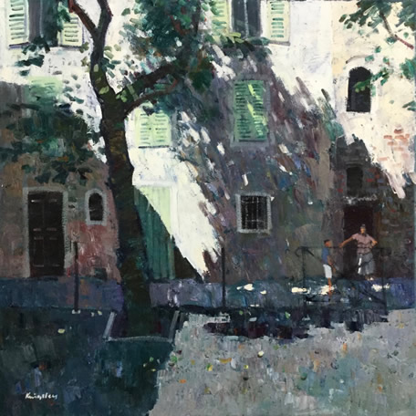 Shaded Houses bastia 26x26