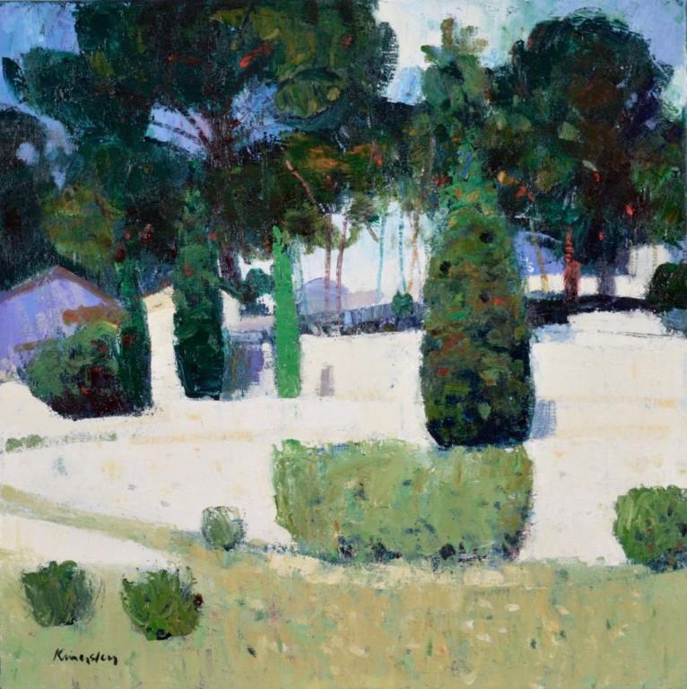 Terraced gardens, Cassis 16x16