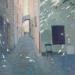 Cobbled Street Seillans 30x32