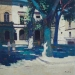 Shaded square St Remy de Provence 24x24