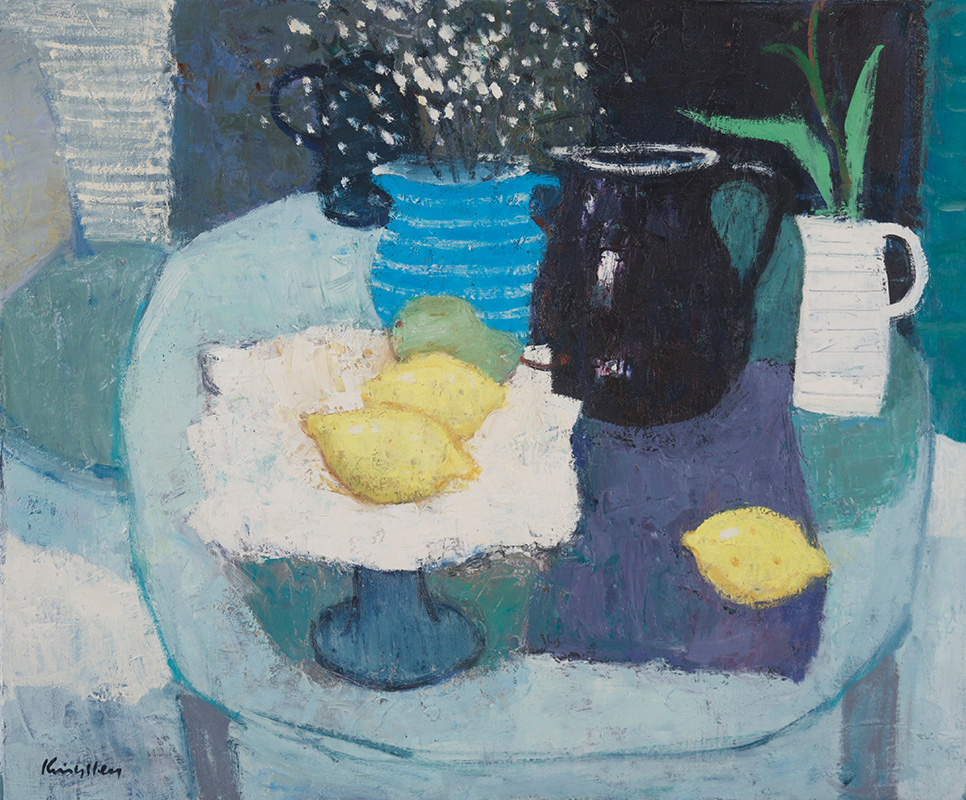 Still Life with Lemons20x242016